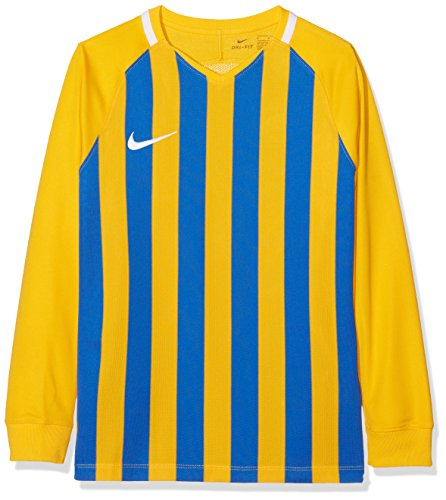 Nike Unisex Division Striped Sleeve University Top Gold Youth White White III Blue Royal Long ZZUAgwq
