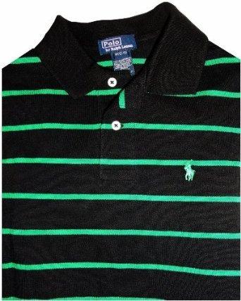 Amazon.com  Boy s Polo By Ralph Lauren Short Sleeve Polo Shirt Black ... ae267549542b
