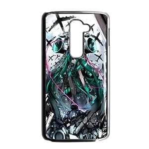 Hatsune Miku Vocaloid Anime LG G2 Cell Phone Case Black yyfabc-462819