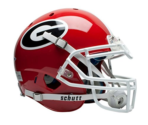Schutt NCAA On-Field Authentic XP Football Helmet, Georgia ()