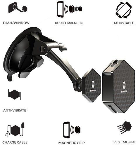 Soporte Celular para Vent. de Autos Magnetico - 7B8QRW9R