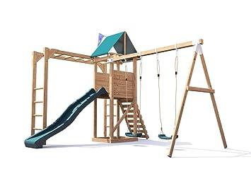 Kinder Klettergerüst Holz : Dunster house monkeyfort kinderkletterger�st aus holz