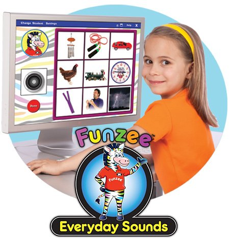 Funzee Everyday Sounds Interactive Software - Super Duper Educational Learning Software for Kids
