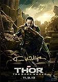 "Loki Thor Avengers Movie Print Tom Hiddleston (11.7"" X 8.3"")"
