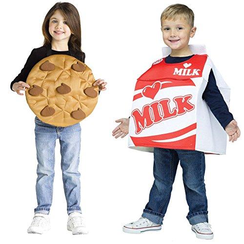 Milk & Cookies Pair Toddler Costume