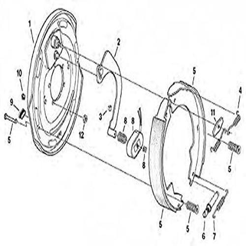 Dexter K7110500 Brake Magnet Kit