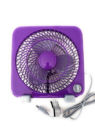 Mainstays 9-Inch Personal Fan Purple by Mainstay