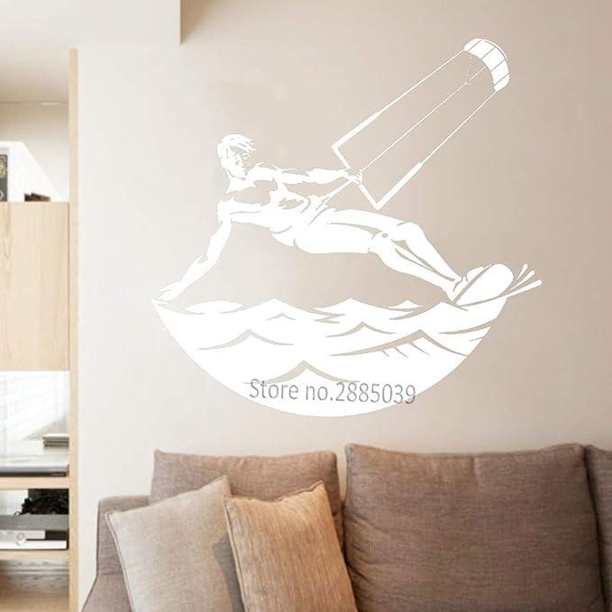 Calcomanía de pared de vinilo para surf de gran tamaño Calcomanías ...