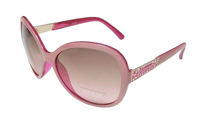 GUESS - Gafas de sol - para mujer rosa Fuchsia/Rosa: Amazon ...