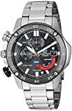 Casio Men's 'Edifice' Quartz Stainless Steel Watch, Color Silver-Toned (Model: EFR-558DB-1AVCF)