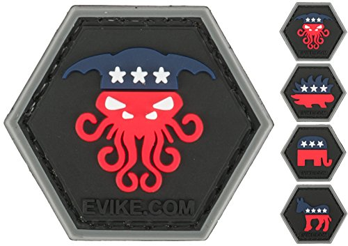 """Evike """"Operator Profile PVC Hex Patch"""" Political Party Serie"""