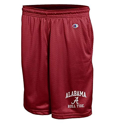 - Elite Fan Shop Alabama Crimson Tide Mesh Shorts - L