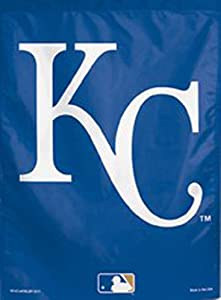 "WinCraft MLB Kansas City Royals Garden Flag, 11""x15"", Team Color"