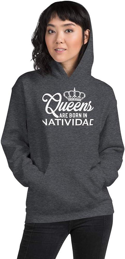 Queens are Born in Natividad PF Dark Heather