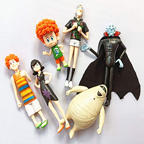 Grocoto Action & Toy Figures - 6pcs/Set Hotel Transylvania 3 Action Figure Toys Dracula Johnny Dennis Mavis Frank Toy Children Gift 1 PCs -