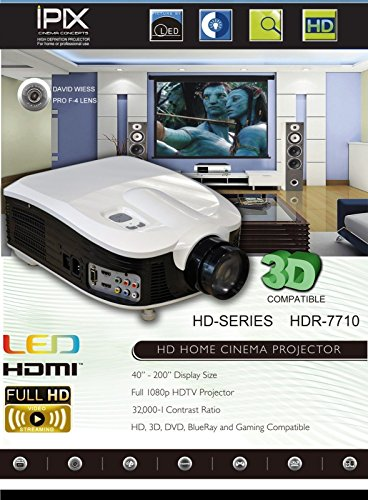 IPix Cinema Concepts HDR-7710 High Definition Projector
