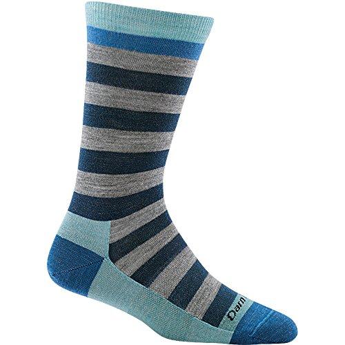 Dahlia Stockings - Darn Tough Good Witch Crew Light Socks - Women's Dahlia Denim Medium,Dahlia Denim