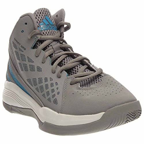 Adidas Mens Speedbreak Basketball Clear Onix / Solar Blue / Running White