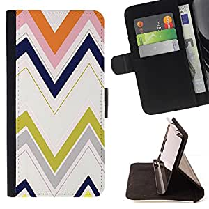 For Samsung Galaxy S5 V SM-G900 Case , Pastel M minimalista Limpio Verde- la tarjeta de Crédito Slots PU Funda de cuero Monedero caso cubierta de piel