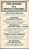 Five Books in a Single Volume: Program For Perfect Health; The Myth of Medicine; The Miracle of living Foods; Correct Food Combining; Better Sleep for a Better Life