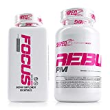 SHREDZ Limitless Supplement Stack for Women, Rebuild-PM + Focus, Boost Focus During the Day, Sleep Better at Night (30 Day Supply)