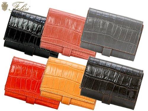 36a1598ed33c Amazon.co.jp: Felisi フェリージ 財布 3500 SA 二つ折り財布 メンズ レディース ダークブラウン[並行輸入品]:  服&ファッション小物