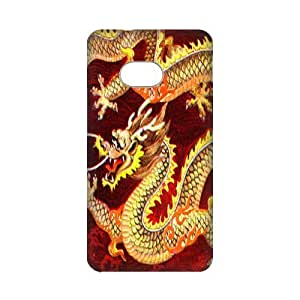 DIY Case Cute Golden Chinese Dragon Hard Plastic Back Case Cover for Personalized Case for HTC One M7 Case-Perfect as Christmas gift(1)