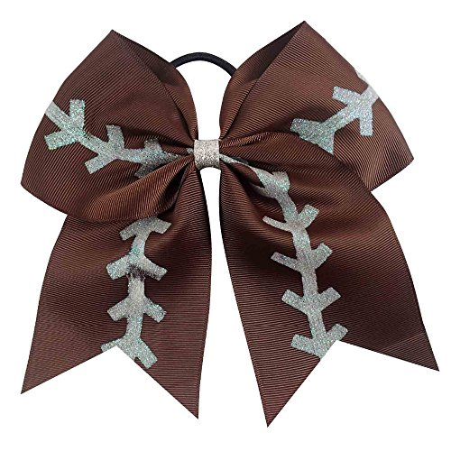 football bow - cheer bow - football cheer bow - cheerbow - sports bow - girls hair bow - hairbow - by DyvaBows