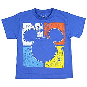 Disney Boy's Mickey Mouse And Friends Square Pop Youth T-Shirt