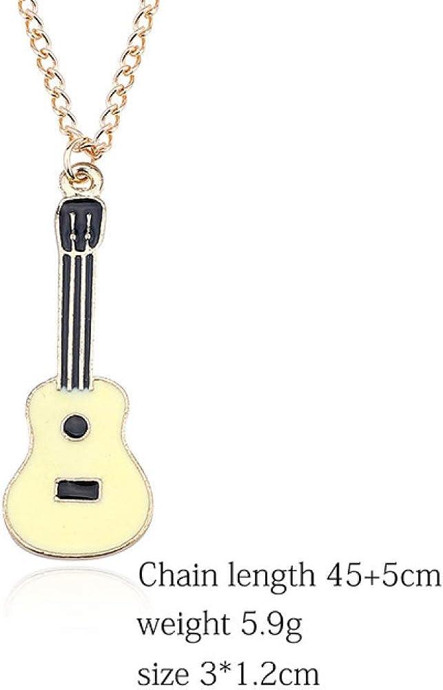 SUZHENA Collar Nueva Caricatura Perla Coco Coco Coche Guitarra ...