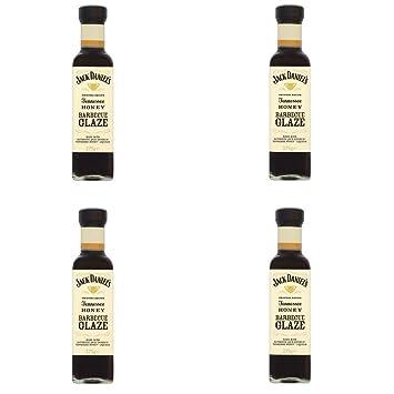 Jack Daniels - Tennessee Honey Glaze - 4 salsas barbacoa con miel, ...