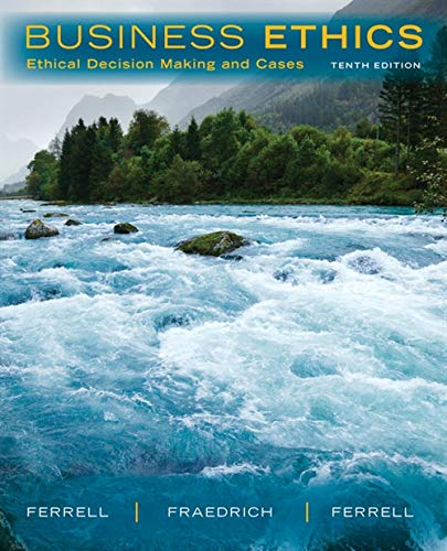 [Best] Business Ethics: Ethical Decision Making and Cases PDF
