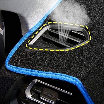 GYYBPDZPZ Dash Cover Dashboard Mat Car Dashboard Cover Dash Mat For Volkswagen VW Polo MK5 6R 2009 2010 2011-2016 2017 2018 Non-slip Sun Shade Pad Carpet