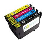 OGOUGUAN 288XL Ink Cartridges Remanufactured for Epson 288 288XL for use in Epson Expression XP-330 XP-340 XP-430 XP-434 XP-440 XP-446 Printers 4PK 1SET