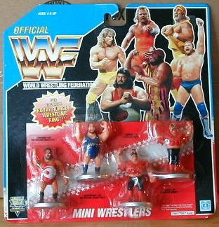 (WWF Mini Wrestlers Card #3 (1991))