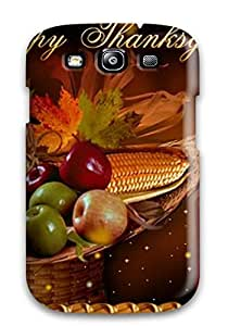 Bareetttt Scratch-free Phone Case For Galaxy S3- Retail Packaging - Thanksgivings by icecream design