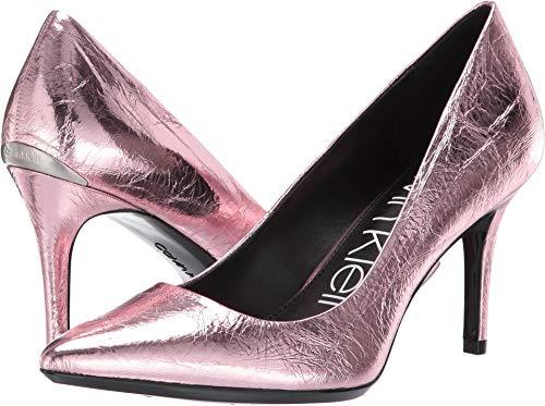 Calvin Klein Women's Gayle Rose Gold Thrill Metallic 5 M -