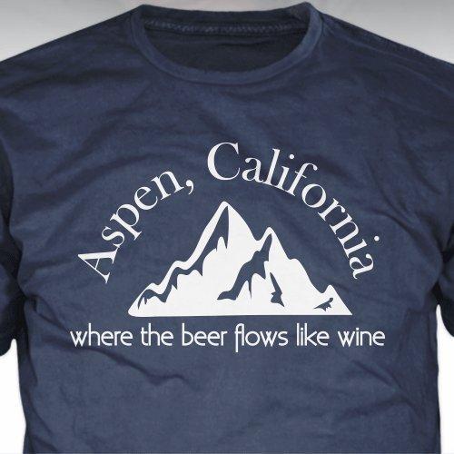Amazoncom Dumb And Dumber Aspen California T Shirt Where The Beer