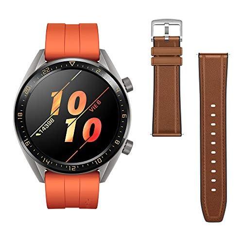 chollos oferta descuentos barato Huawei Watch GT Active Reloj Inteligente Naranja 46 mm Reloj Correa