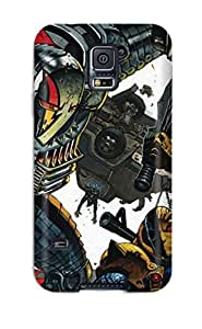 High Quality Shock Absorbing Case For Galaxy S5-deathstroke