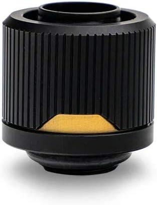 6-Pack 12//16mm 7//16 ID, 5//8 OD Black EKWB EK-Quantum Torque STC-12//16 Compression Fitting for Soft Tubing