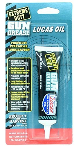 2 - LUCAS Extreme Duty Gun Grease 1oz Tube 10889 Lube by Lucas Oil