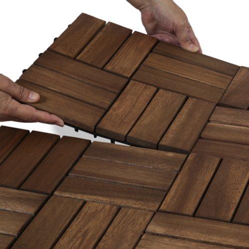 interlocking wood deck tiles reviews garden winds twelve slat contemporary count amazon ikea review canada
