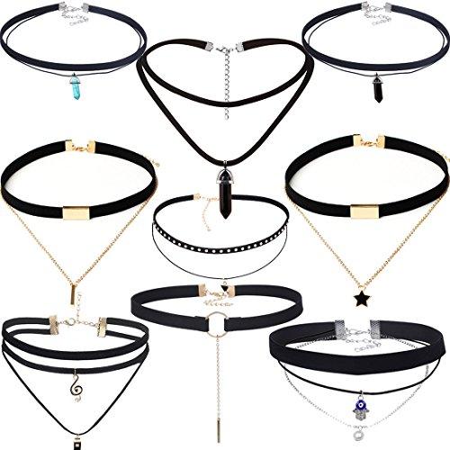zelda 12 piece necklace set - 5