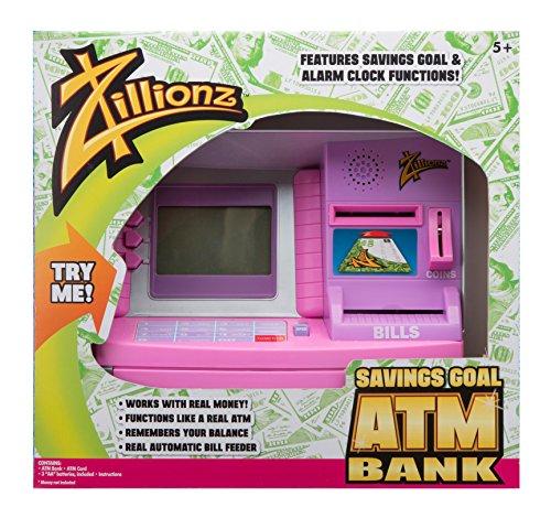 Zillionz Pink Savings Goal ATM ()