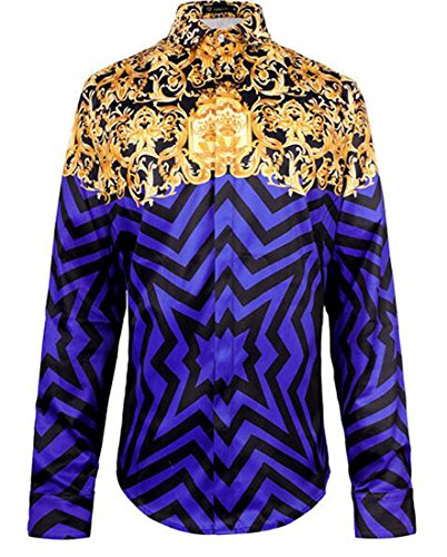 70s Tuxedo Shirt - 1