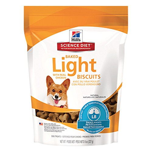 Hill'S Science Diet Baked Light Biscuits With Real Chicken Small Dog Treats, 9-Ounce Pouch Review
