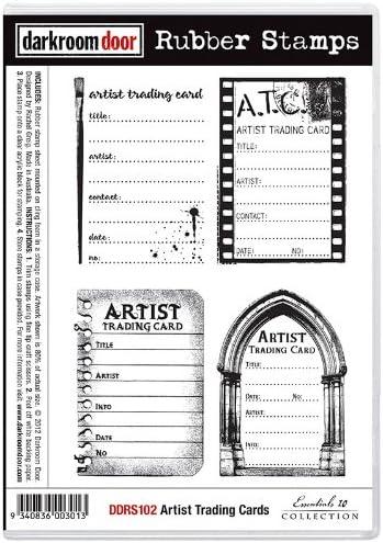 Darkroom Door Artist - Juego de Sellos para estampación, diseño de Cartas coleccionables: Amazon.es: Hogar