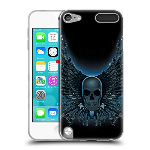 Official Vincent HIE Strings Skulls Soft Gel Case Compatible for Apple iPod Touch 5G 5th Gen (Ipod Touch 5th Gen String)