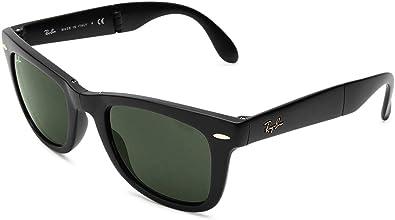 Amazon.com: Ray-Ban Wayfarer RB4105 gafas de sol plegables ...